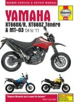 Haynes Yamaha XT660 & MT-03 Manual Workshop Manual