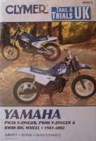Clymer Yamaha PW50 PW80 BW80 Workshop Manual