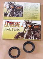 6. Front Fork Seals - TY80