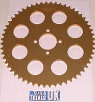 Rear Sprocket -TY80 Whitehawk - 56 Teeth