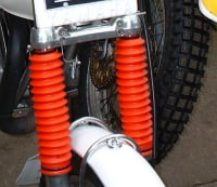 Front Fork Gaiters - TY125 & TY175