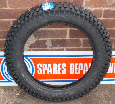 IRC Tube Type Rear Trials Tyre