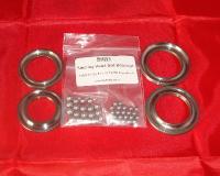 1 & 3-7. Steering Bearing & Race Kit - TY125 & TY175