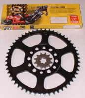 Budget Basic Chain & Sprocket Kit - TY125 & TY175