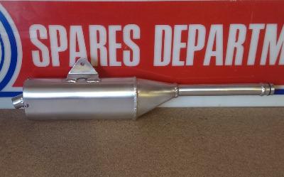 WES Aluminium Silencer -TY125 & TY175