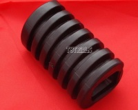 13. Front Footrest Rubber - TY125