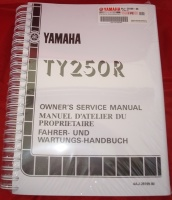OEM Workshop Manual - TY250R Pinky