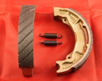 5 & 6. Water Grooved Front Brake Shoes - TY250 & TY350 Mono