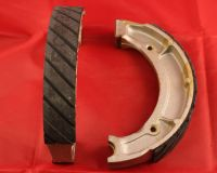 Front Grooved Brake Shoes & Springs - DT250 DT360 & DT400