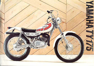 Permalink to Yamaha Ty175 Trials Motorcycle Parts