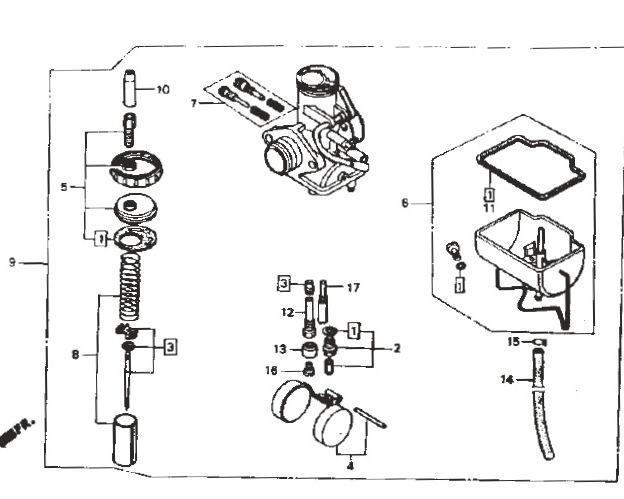 rtl250 carb