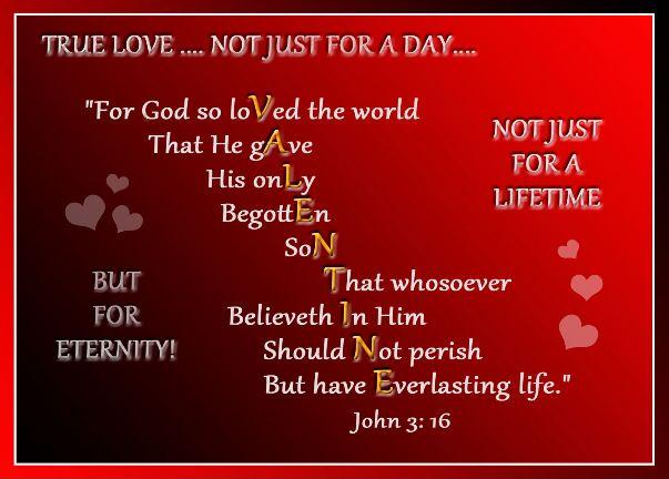 john 3 v16 valentine