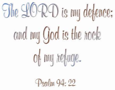 Psalm 94 v22
