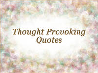Verse_Thought Provoking Quotes