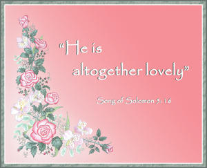 G - Song of Solomon 5 v16