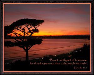 G - Proverbs 27 v1