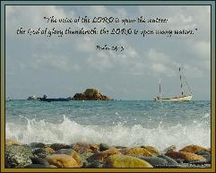 G - Psalm 29 v3