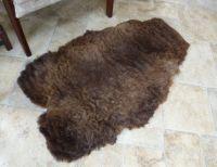 Lambskin Coloured Ryeland rug