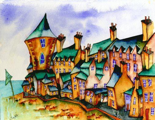 Impression of Aldeburgh Suffolk