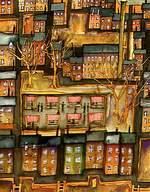 Market Day at Masham N.Yorks. Print