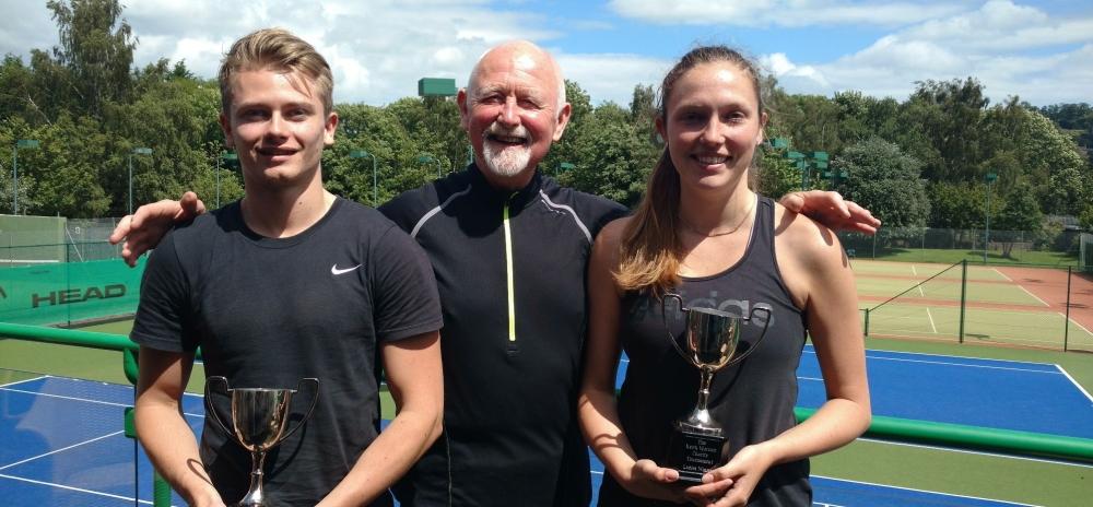 Jamie Keith Chantelle tennis tournament July 16