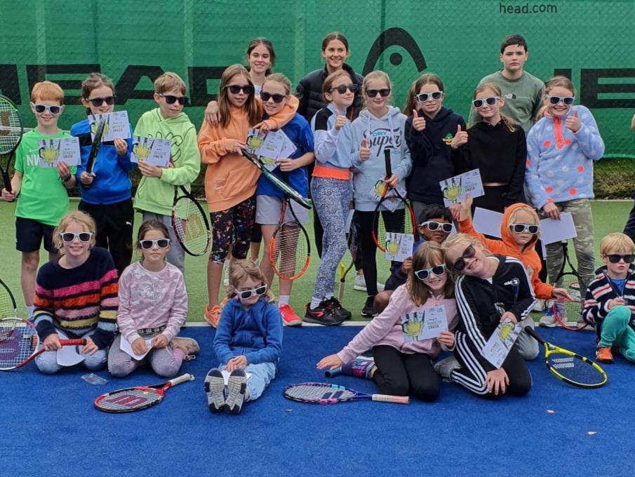 Kids with sunglasses