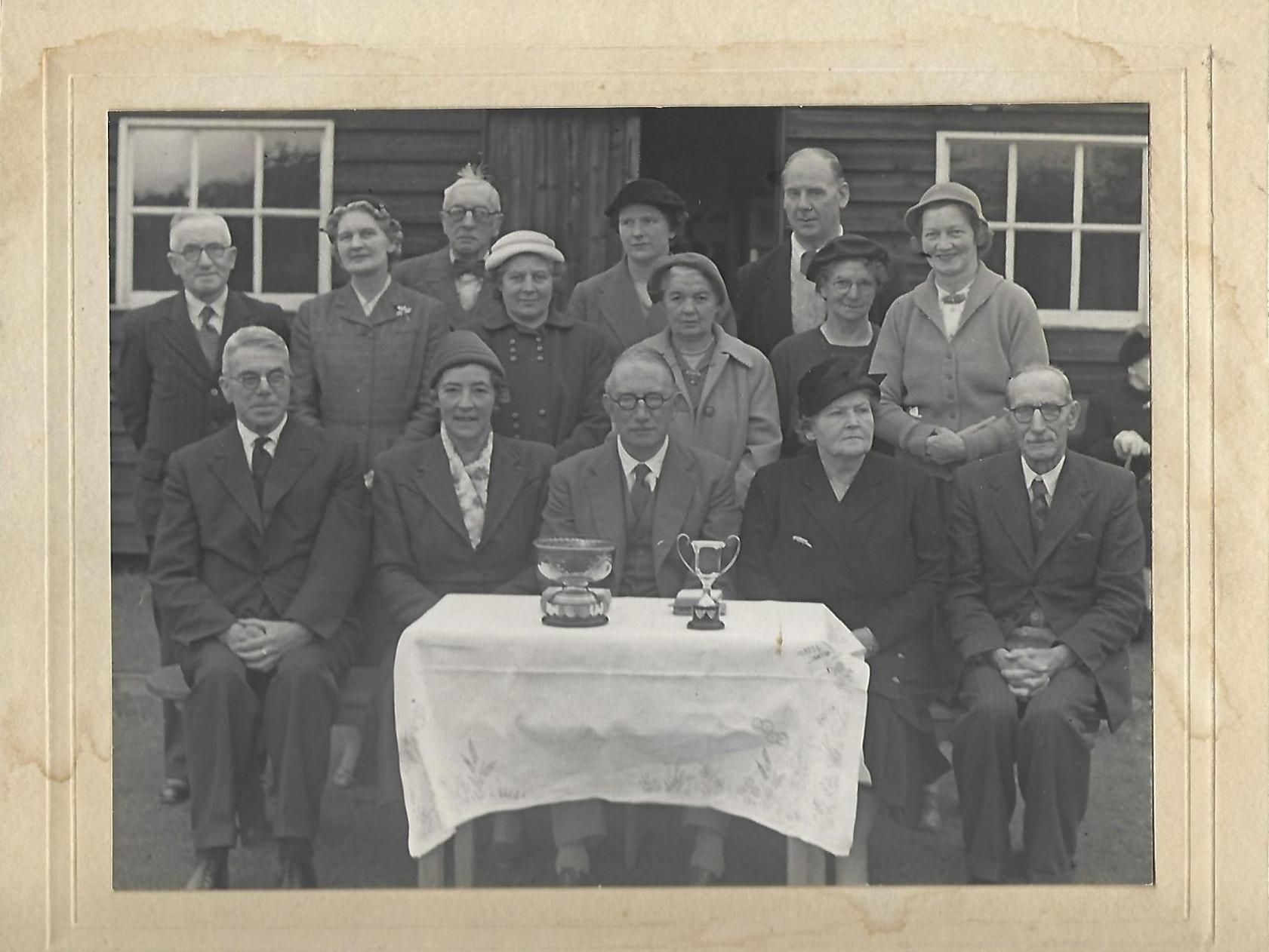 Bowls Club 1954