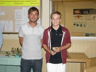 2012 Under-18s Singles winner