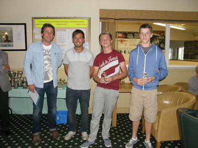 2012 Under-18s Doubles runners-up