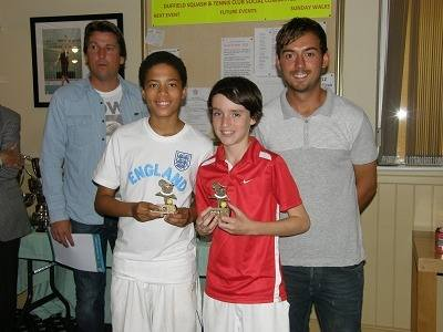 2012 U-14 Doubles runners up