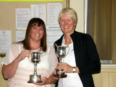 2012 Ladies Doubles winners