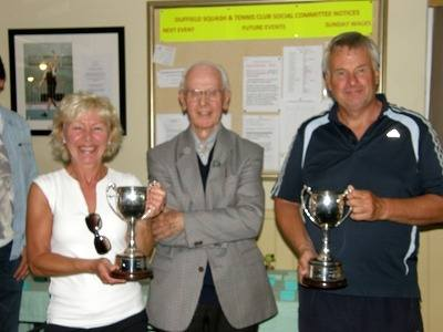 2012 Mixed doubles winners