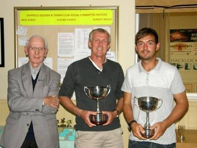 2012 Mens doubles winners