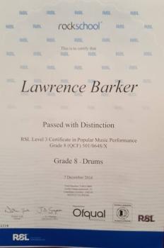 Lawrence Grade 8