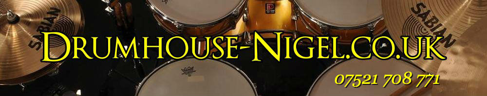 Drumhouse-Nigel.co.uk, site logo.