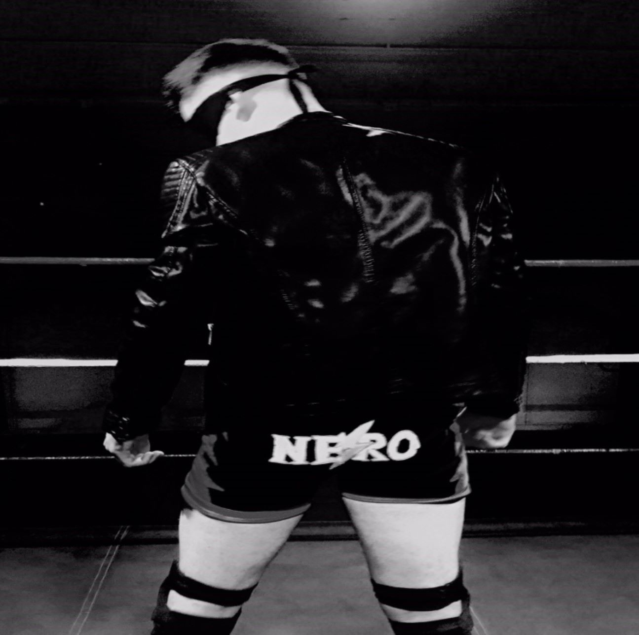 Jack Nero jacket square black and white