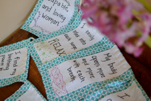affirmations bunting