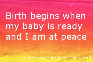 hypnobirthing affirmations 11