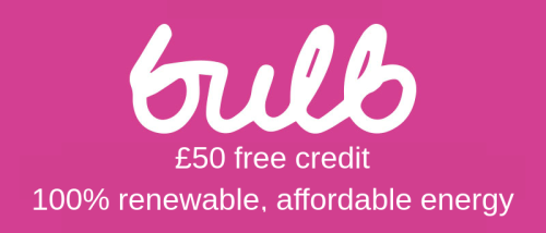 Bulb referral link £50 credit