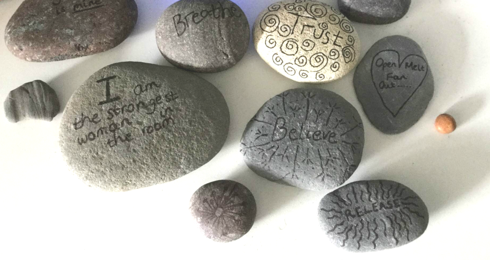 Hypnobirthing pebbles