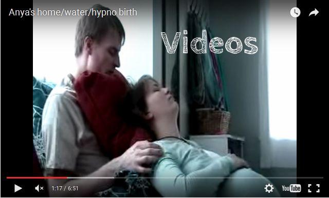 Hypnobirthing videos on Youtube