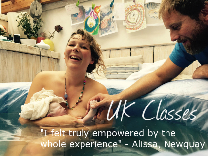 hypnobirthing classes in Cornwall