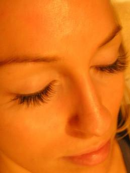 Charlotte after Lash Extensions