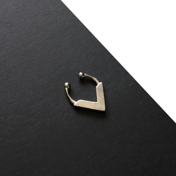 KALANI | Sterling Silver Faux Septum Ring