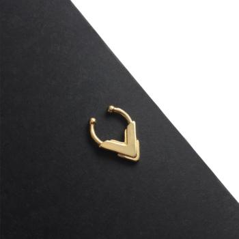 AKILA |  Faux Gold Tribal Septum Ring