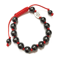 Hematite Knotted Bracelet