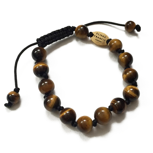 Tiger Eye Knotted Bracelet