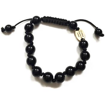 Onyx Knotted Bracelet