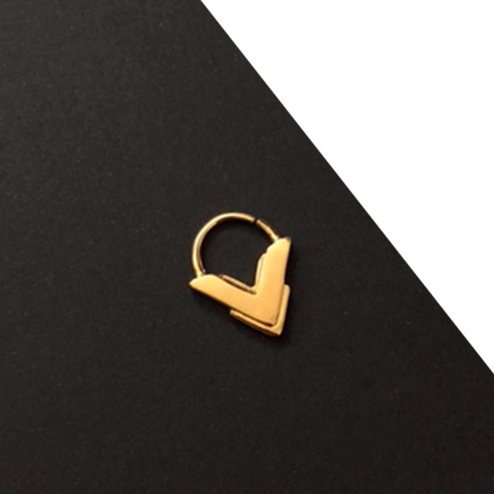 AKIM | Rose Gold Plated Septum Ring