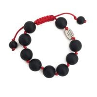 Agate Red Knotted Bracelet